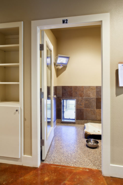 Boarding Suite From Hallway